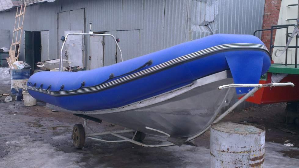 как обработать дно у алюминиевой лодки