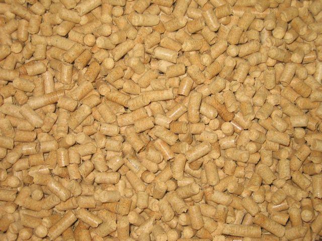 Топливные гранулы пеллеты 8мм от производителя