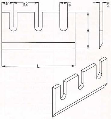 Производим ножи корообдирочные длиной от 80 мм до 420 мм,