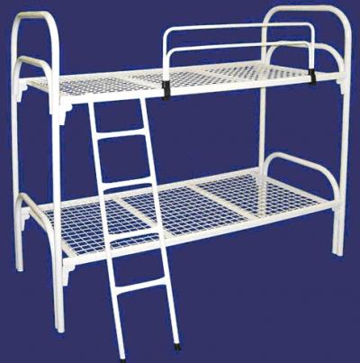Одноярусные кровати в больницы, двухъярусные кровати для строителей, кровати опт