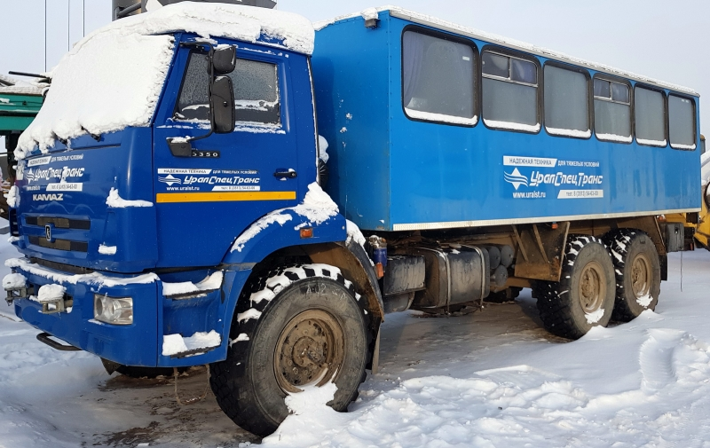 Продам вахтовый автобус Камаз 5350  бу