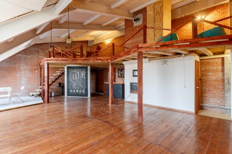 Дизайнерский офис в стиле Loft
