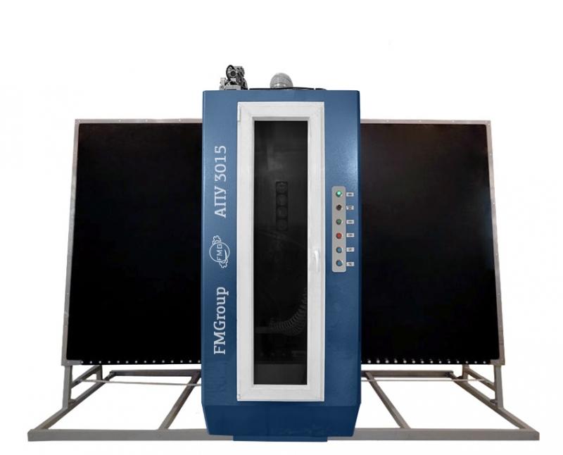 Автоматизированная пескоструйная установка
