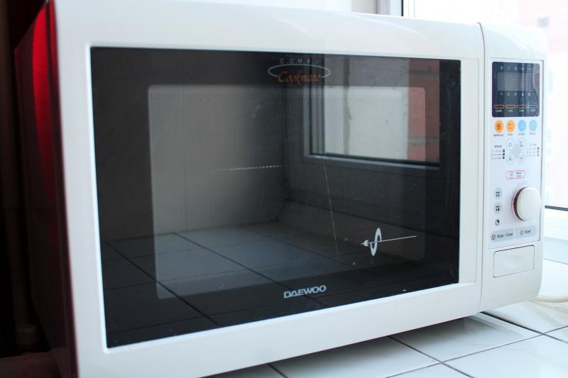 Продам микроволновую печь бу Daewoo koc-960p, объем 29л