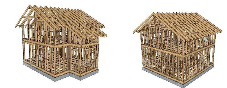 Каркасы для каркасных домов и не только