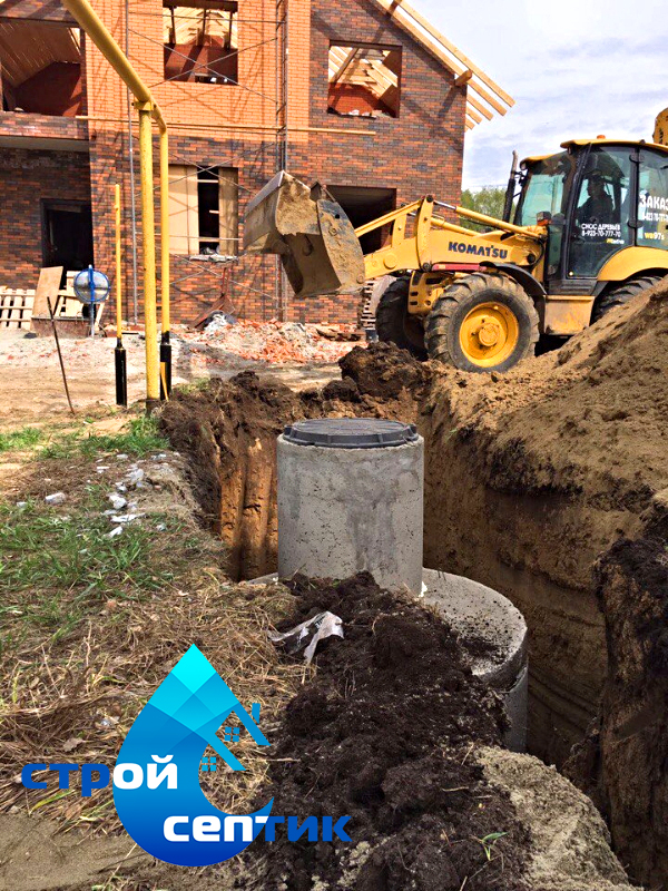 Построим канализацию для дома или дачи, от 22.500 руб с материалом Под Ключ