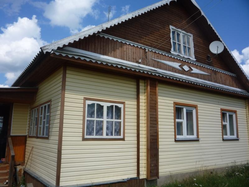 Теплый дом в 2 этажа для семьи