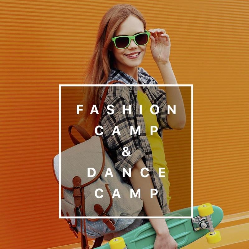 Летняя площадка Fashion and Dance Camp в Хабаровске