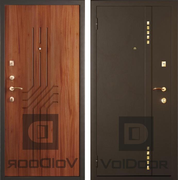 Входные металлические двери voldoor