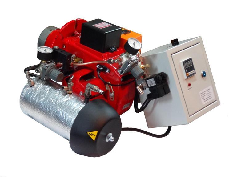 Горелка на отработанном масле AL-4V 15-45 кВт