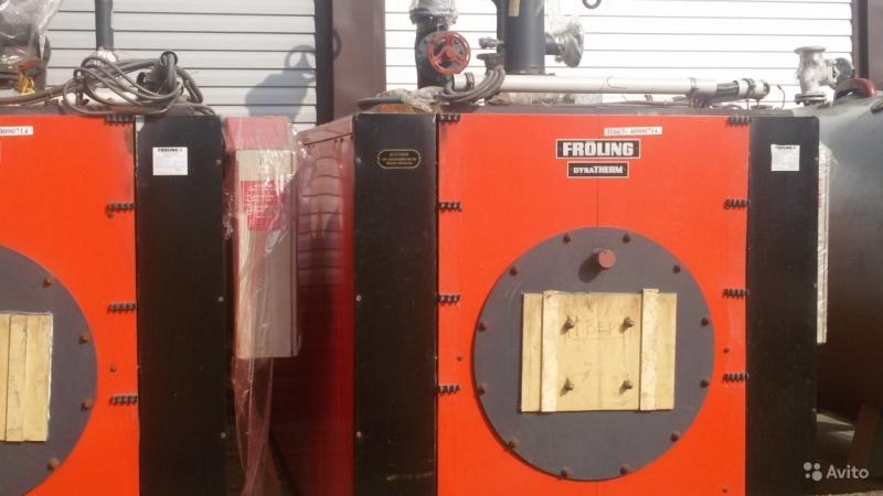 Продаю промышленный водогрейный котел Froling 1860 квт с горелкой
