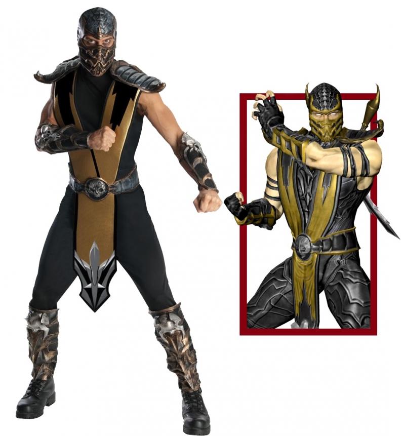 Костюм Скорпиона Mortal Combat от Penivaiz