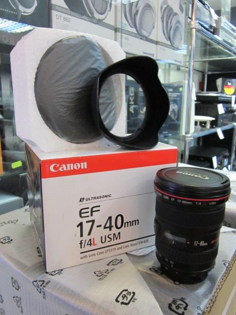 объектив, Canon EF 17-40 mm f4 L USM