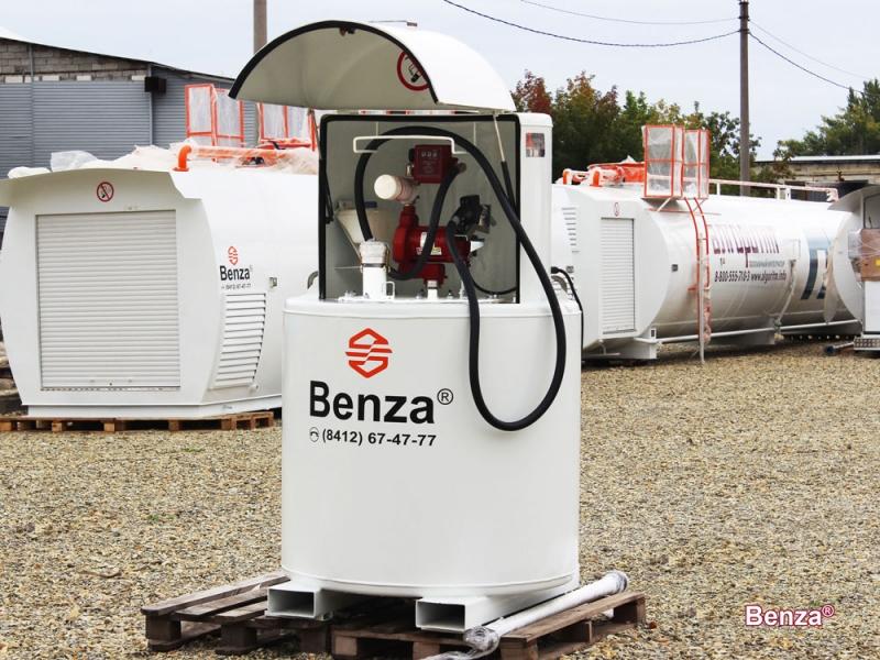 Мини АЗС Benza модификации топливный модуль