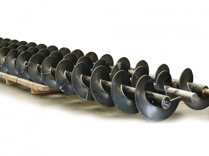 Шнековая спираль Производство Ремонт Обслуживание