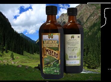 Алтайское конопляное масло