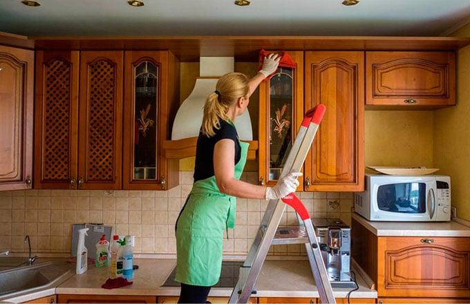 6.Помощь по уборке мамам в декрете